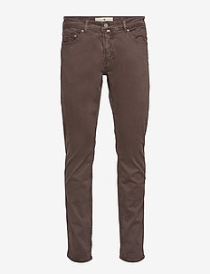 James Brushed 5-pkt - slim jeans - brown