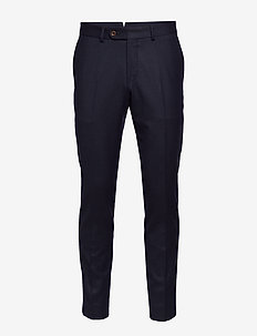 Rodney Flannel Trouser - NAVY