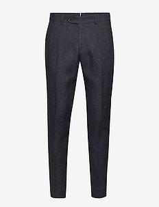 Azour  Rodney Linen Trouser - suitbukser - navy