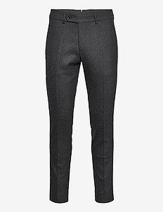 Rodney Flannel Trouser - dressbukser - grey
