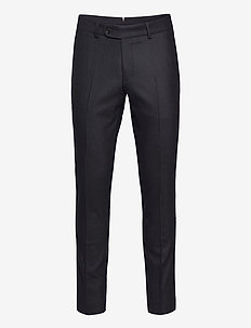 Rodney Flannel Trouser - suit trousers - navy