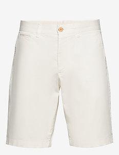 Regular Chino Shorts - spodenki chinos - off white