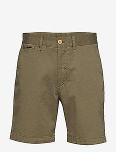 Lt Twill Chino Shorts - chinot - olive