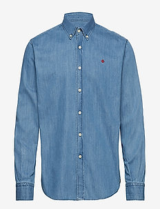 Cary Grant Denim Shirt - LIGHT BLUE