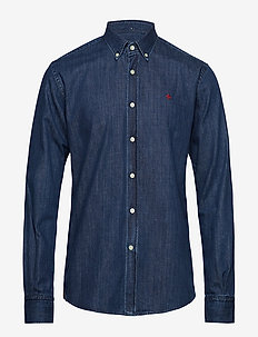Cary Grant Denim Shirt - NAVY