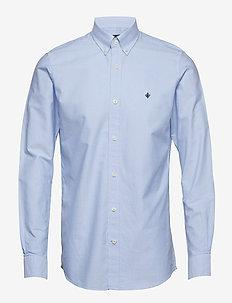 Oxford Button Down Shirt - oxford shirts - light blue