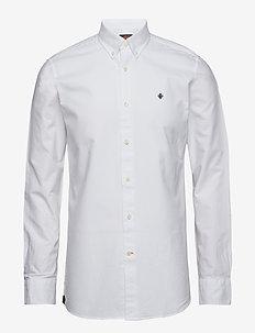 Oxford Button Down Shirt - WHITE