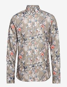 Bradley Button Down Shirt - OLIVE