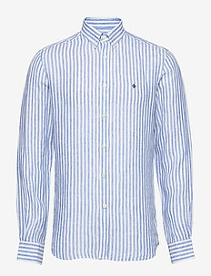 Emanuel Button Down Shirt - BLUE