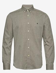 Max Button Down Shirt - koszule casual - olive