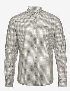 Jules Button Under Shirt - BLUE