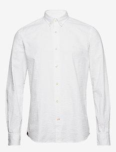 Lucas Button Down Shirt - koszule casual - white