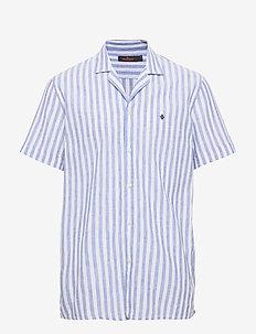 Theo Bowling Shirt - BLUE