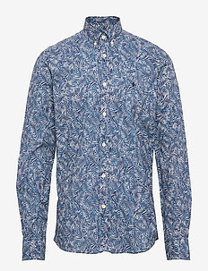 Theodore Button Down Shirt - BLUE