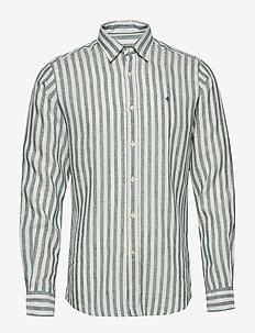 Luca Button Under Shirt - GREEN