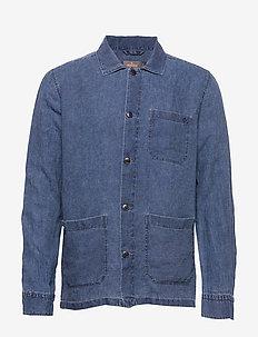 Ethan Lt Shirt Jacket - NAVY
