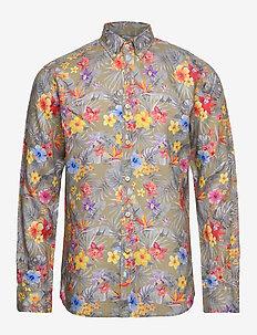Harvey Button Down Shirt - KHAKI
