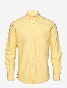 André Button Down Shirt - basic skjorter - yellow