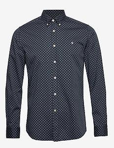 Maurice Button Down Shirt - chemises décontractées - blue