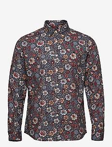 Nash Button Down Shirt - chemises décontractées - blue