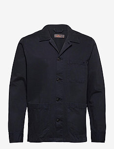 Arden Shirt Jacket - overshirts - blue