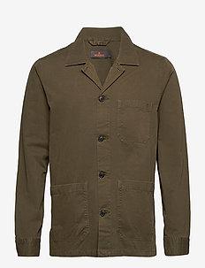 Arden Shirt Jacket - casual overhemden - olive