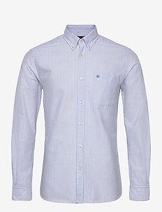Aldwyn Mixed Panel B.D. Shirt - casual skjortor - light blue