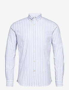 Giles Button Down Shirt - casual shirts - light blue