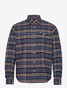 Denny Overshirt - yläosat - blue