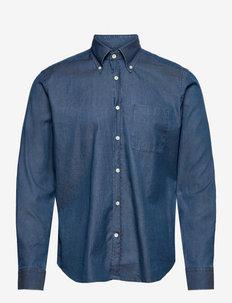 Indigo BD Shirt - chemises décontractées - navy