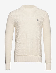 Bogard Cable Knit - basic strik - off white
