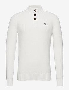 Warden Knit - podstawowa odzież z dzianiny - off white