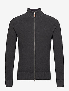 Watts Zip Cardigan - gilets - grey