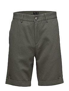 Jerome Linen Shorts - GREEN