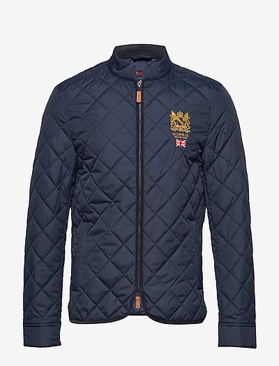 Trenton Quilted Jacket - quilted jackets - old blue