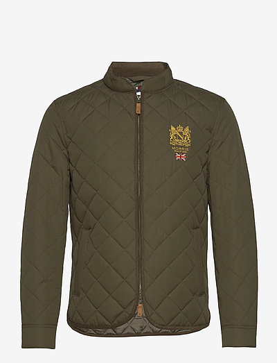 Trenton Quilted Jacket - quilted jackets - olive
