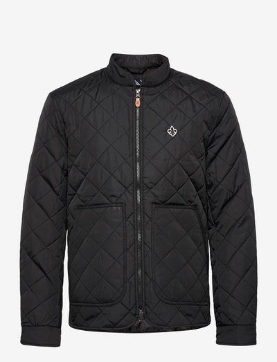 Kensington Quilted Jacket - quilted jackets - black