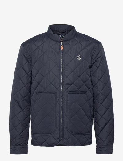 Kensington Quilted Jacket - quilted jackets - blue
