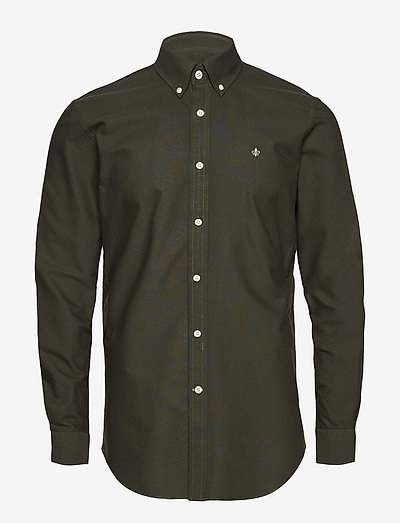 Douglas Shirt - chemises oxford use default - olive