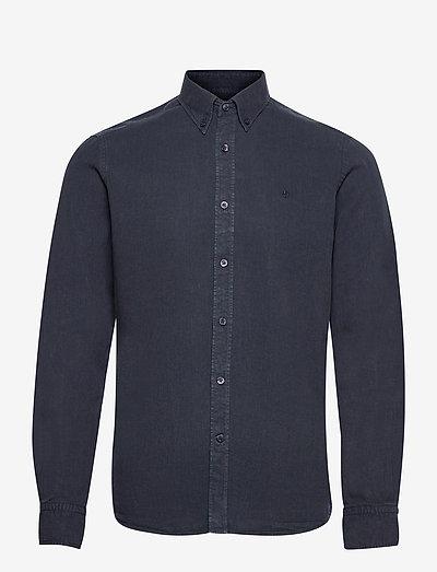 Lucien Button Down Shirt - rutiga skjortor - blue