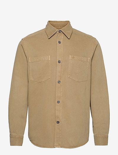 Bendell Overshirt - vêtements - camel