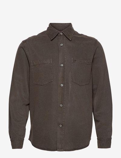 Bendell Overshirt - vêtements - olive