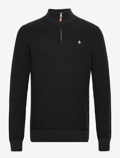 Bernard Half Zip - half zip jumpers - black