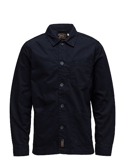 Henri Shirt Jacket - BLUE