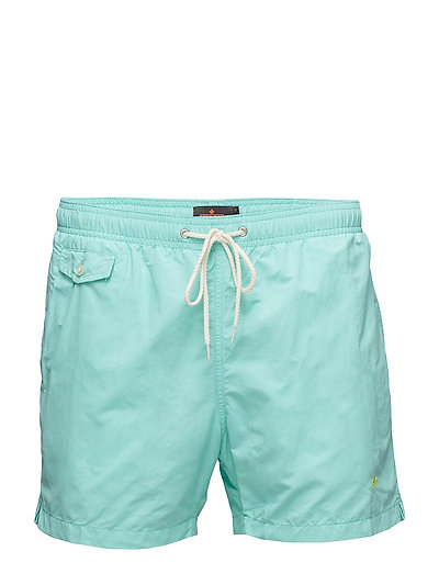Morris solid bathing trunks - TURQUOISE