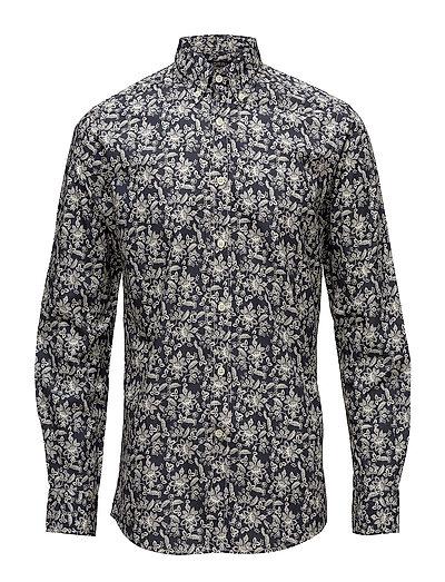 Sauville Button Down Shirt - BLUE