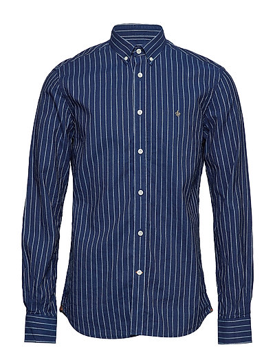 Normandie Button Down Shirt - 58 BLUE