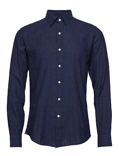Clifford Club Collar Shirt - NAVY