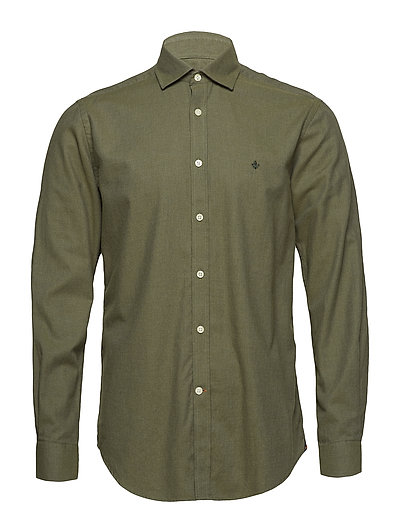 Lloyd Spead Collar Shirt - OLIVE