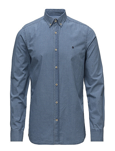 Neal Button Down Shirt - BLUE
